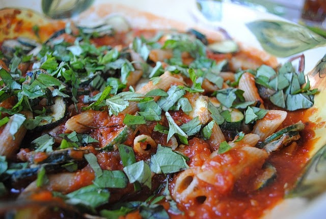 Ratatouille With Penne Recipe — Dishmaps