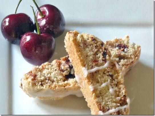 Cherry Almond Biscotti http://www.lindasitaliantable.com/cherry-almond ...