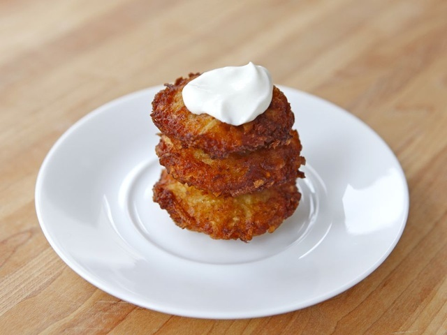 Crispy Yukon Gold Latkes Recipes — Dishmaps