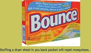 Bug Repellent Dryer Sheets Remember Pinterest