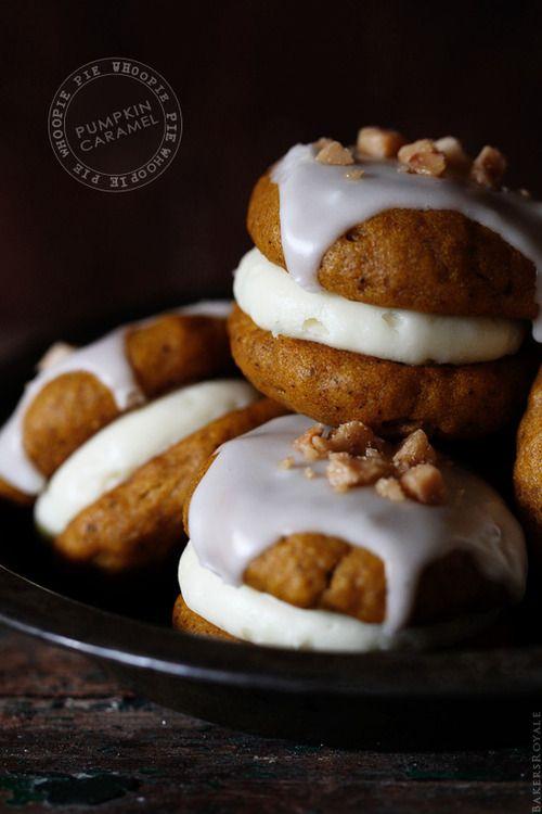 Pumpkin Whoopie Pie | Foods I Love | Pinterest