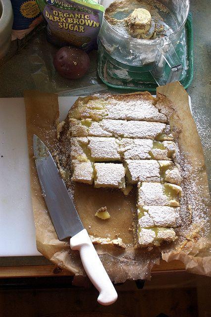 gluten-free ginger-lemon bars | CROCK TEASE | Pinterest