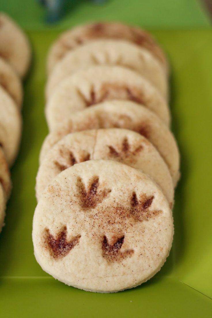 Dinosaur claw cookies | dinosaurs | Pinterest