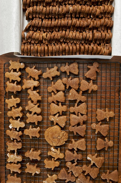 Spicy Gingerbread Cookies | Holiday Recipes | Pinterest