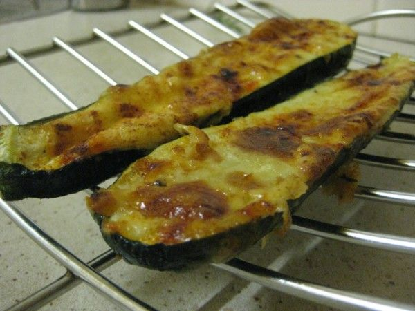 Baked Zucchini with Garlic | Low Cal Recipes and Exercise. | Pinterest