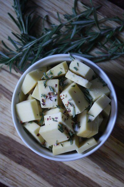 Baked Fontina With Garlic, Olive Oil, And Thyme Recipes — Dishmaps