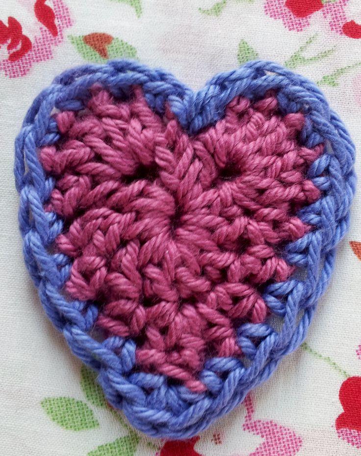 Crochet Heart Patterns For Beginners : Beginners Crochet Hearts - Free Pattern Crafty Crochet ...
