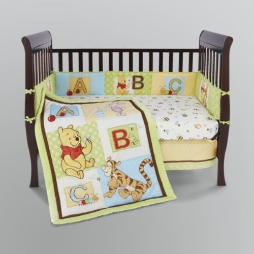 Crown crafts classic pooh collection - Cute winnie the pooh baby furniture collection ...