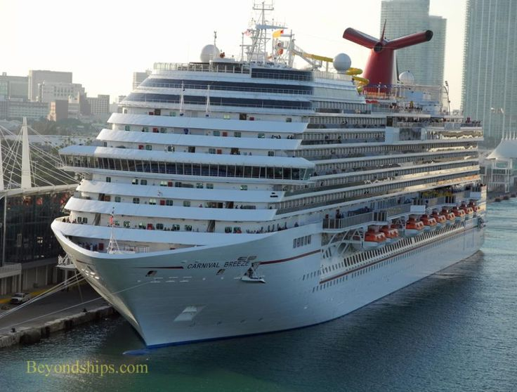 Carnival Breeze Cruise Ship  Our Cruise  Pinterest