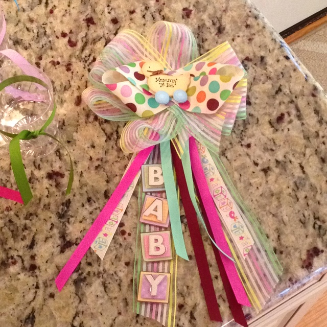homemade baby shower corsage homemade baby shower corsage http www