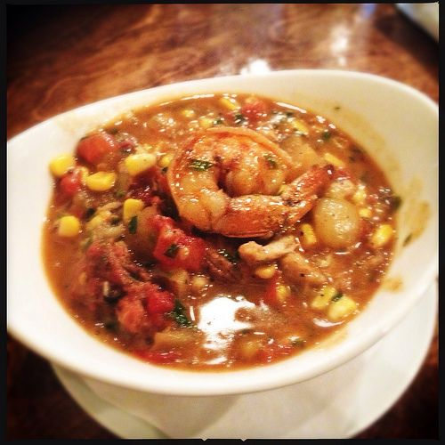Frogmore stew: Sweetgrass Next Door The soup, which is really more ...