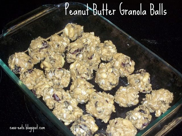 ... peanut butter granola balls two peas their pod peanut butter granola