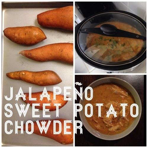 Jalapeno Sweet Potato Chowder