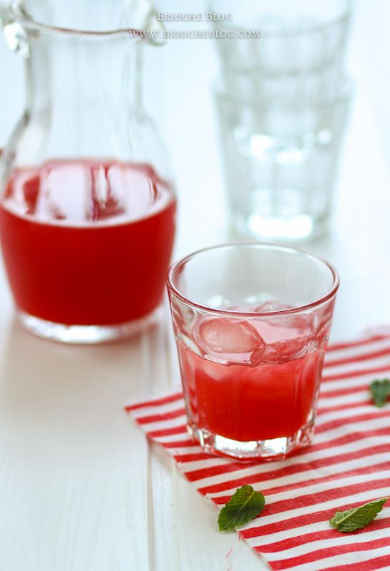 Rhubarb-strawberry lemonade | Culinary Moments | Pinterest