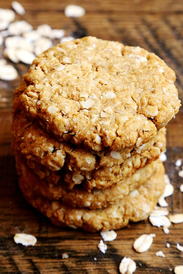 Chewy Coconut Oatmeal Cookies | baking | Pinterest