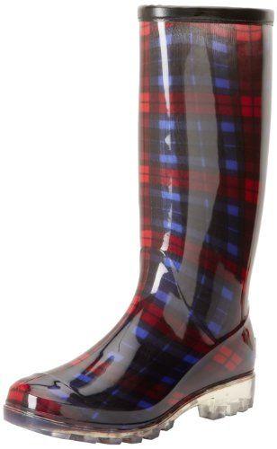 Bootsi Tootsi Women's Plaid Boot $18.75 #topseller