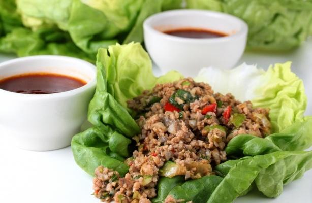 Pork and Vegetable Lettuce Wraps   Great food ideas   Pinterest