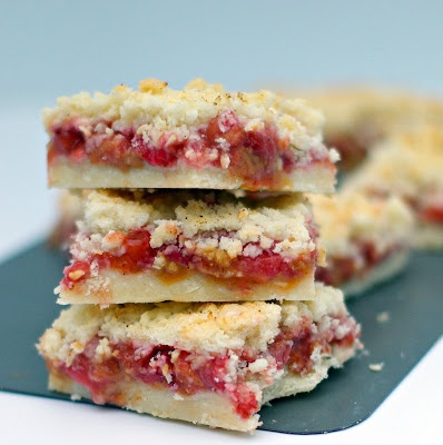 Rhubarb Strawberry Squares | Recipes | Pinterest