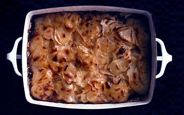 Crisp Oven-Browned Potatoes: 2000s Recipes + Menus : gourmet.com