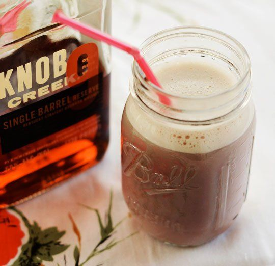 Double Chocolate Bourbon Egg Cream | Recipe