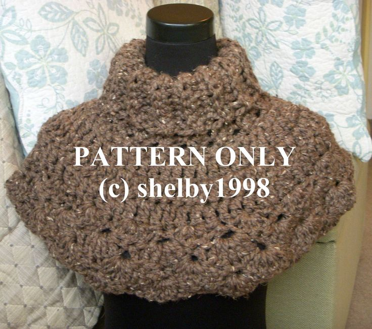 PATTERN Crochet Poncho, PDF Hampton Capelet Beginners ...
