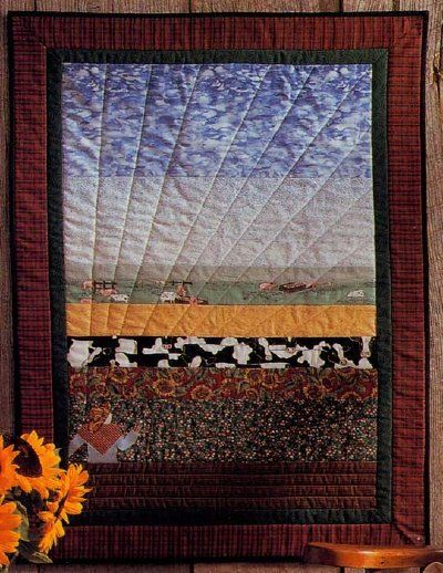 Bird s Eye View Quilted Wall Hanging Pattern
