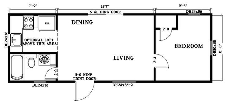 Derksen joy studio design gallery photo for Portable building floor plans