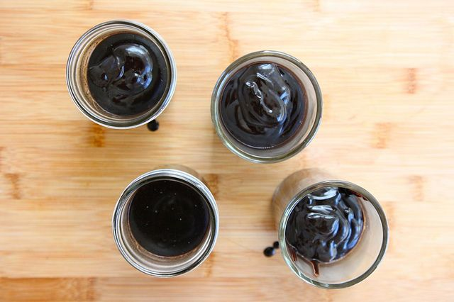 "Midnight Black Chocolate Pudding"""