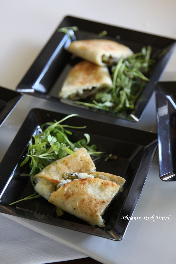 Asparagus & Goat Cheese Quesadillas | From Chef Mary Trochowski | Pin ...