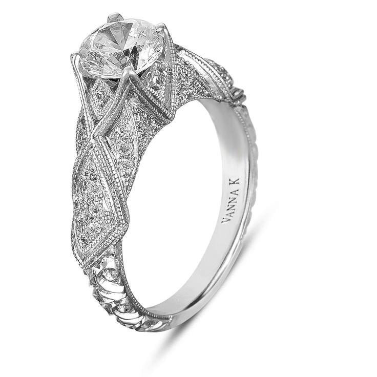 Unique Engagement Rings-18RGL00409DCZ