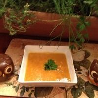 Autumn Sweet Potato Soup a reat #Thanksgiving soup to begin the meal ...