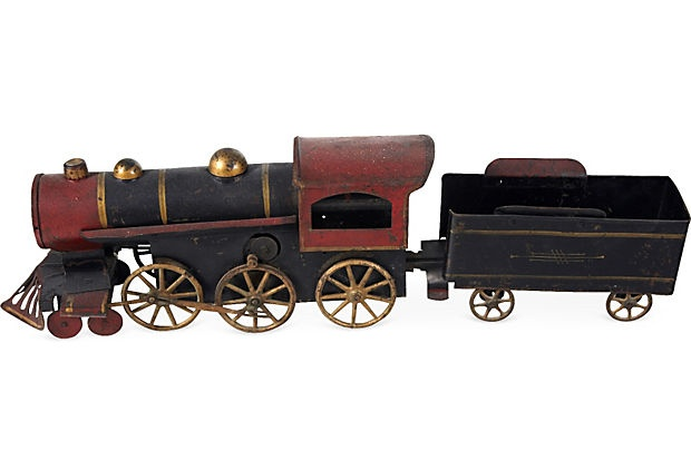 Old Toy Trains : Antique toy train