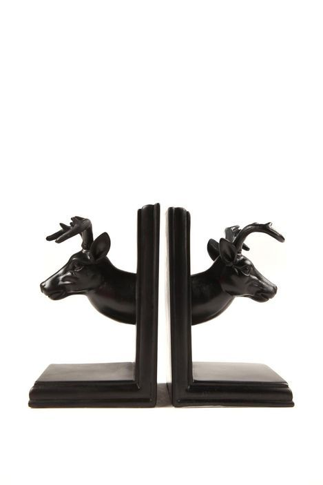 Novelty bookends stag dream purchase pinterest - Stag book ends ...