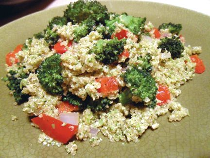 Double Broccoli Quinoa | Eat To Live Recipes | Pinterest