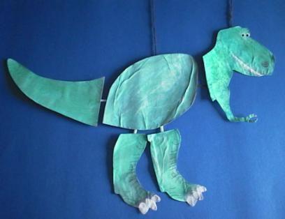 T-Rex Crafts for Preschoolers