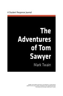 the adventures of tom sawyer enotes response journal