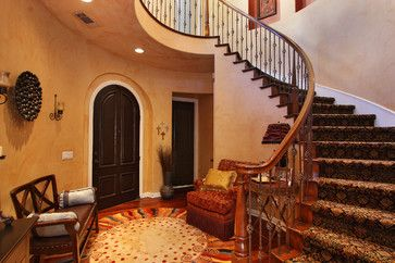 Leahy interior design eclectic entry