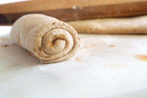 Cinnamon Swirl Wheat Bread | Naturally Ella