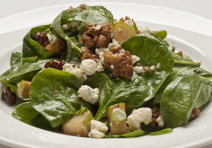 Spinach and Pear Salad | Salads | Pinterest