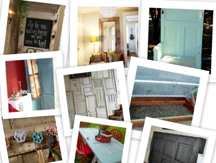 Upcycle Ideas for Old Doors | Crafts | Pinterest