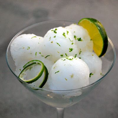 gin and tonic sorbet - a tonic balm | ice cream | Pinterest