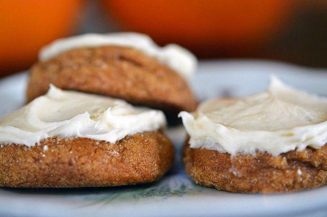 molasses pumpkin cookies   Sweet Tooth   Pinterest