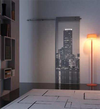 Sliding Door Fashion Glass Glass Interior Design Miami