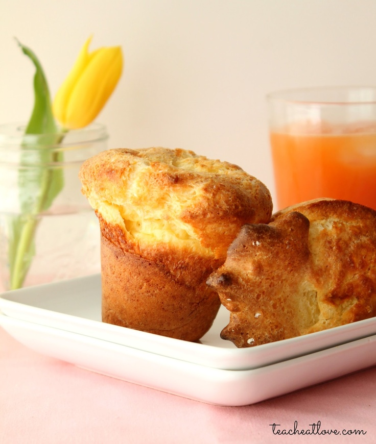Popovers: incredibly easy. My oven's a bit finicky and tends to ...