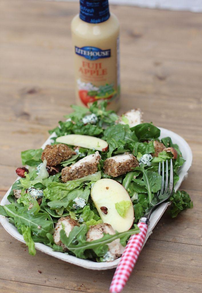 Pecan crusted chicken salad   NOM NOM   Pinterest