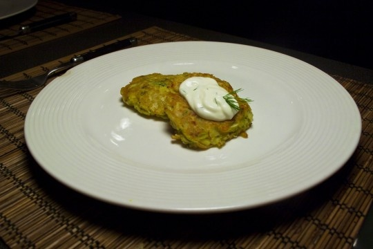 Parsnip latkes with horseradish and dill! My new blog - made these ...