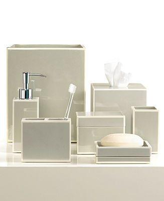 Hotel collection bathroom accessories