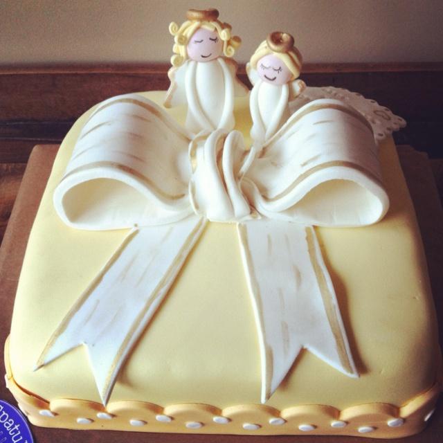 Angel cake...  birthday cake  Pinterest