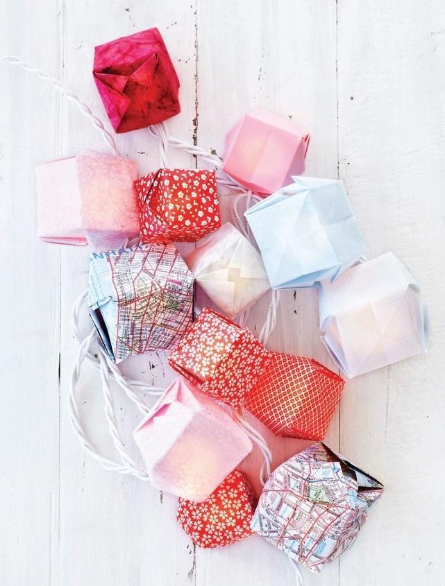 Target Origami String Lights : Origami box string lights Crafts & DIY Pinterest