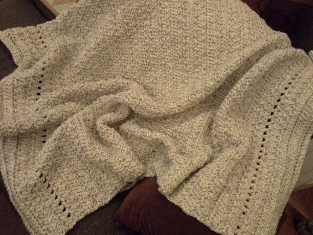 Crochet Patterns For Wool Ease : Crocheted afghan-wool ease thick & quick CROCHET Pinterest